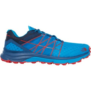 North Face Ultra Vertical Shoes - Shady Blue Hyper Blue