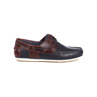 Barbour Capstan Shoes - Navy Brown