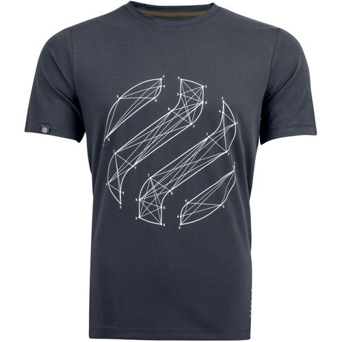 Heimplanet Connections Logo T Shirt - Charcoal Grey