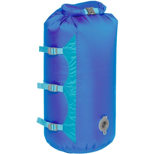 Exped Waterproof Compression Medium Stuff Sack - Blue