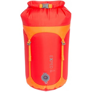 Exped Waterproof Telecompression Small Stuff Sack - Red