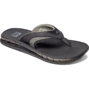 Reef Boster Sandals - Black Ice