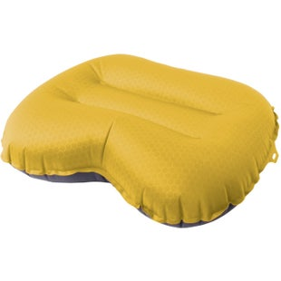Exped Large Air UL Travel Pillow - Yellow Grey