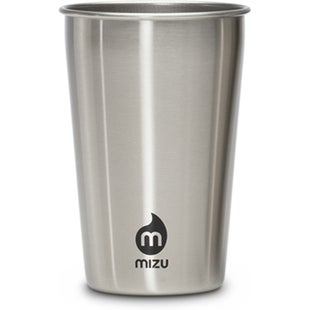 Mizu Party Cup 2 Pack Cup - Stainless w Black