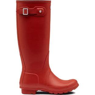 Hunter Original Tall Ladies Wellies - Military Red