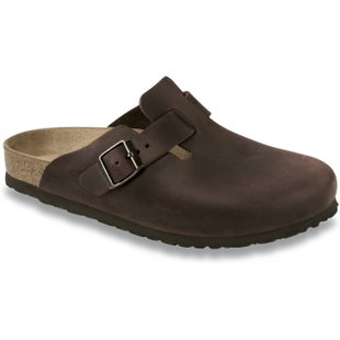 Birkenstock Boston FL Slip On Shoes - Habana