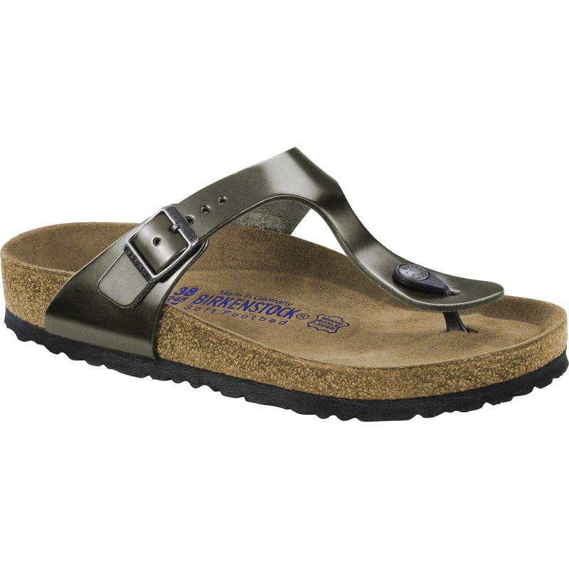 6991861789c Birkenstock Gizeh Natural Leather Soft Footbed Sandals available ...