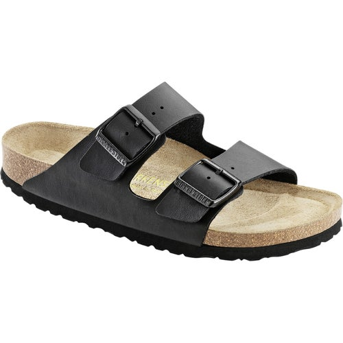 Birkenstock Arizona Birko Flor Soft Footbed Sandals - Black