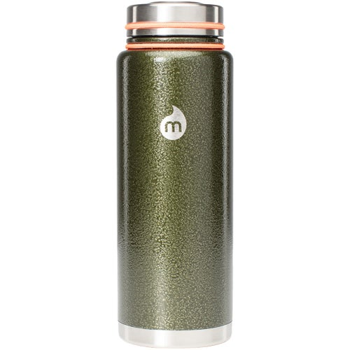 Mizu V12 w Stainless Steel Lid Flask - Army Hammer Paint