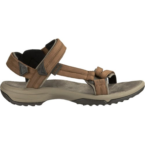 Teva Terra Fi lite Leather Ladies Sandals - Brown