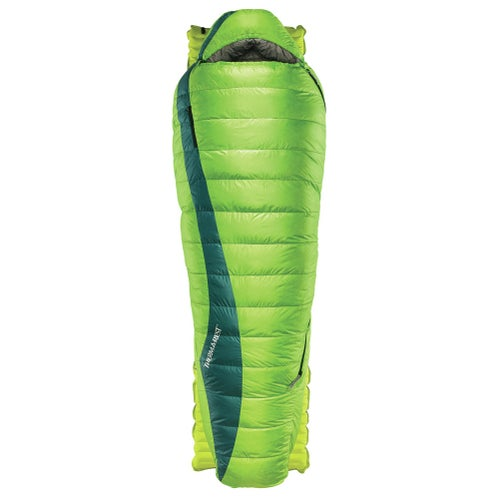 Thermarest Questar 20F Down Long Sleeping Bag - Gemini Green