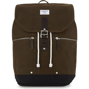 Sandqvist Gary Backpack - Waxed Olive