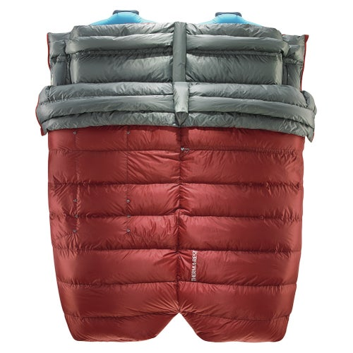 Thermarest Dorado Duo HD Sleeping Bag - Rust