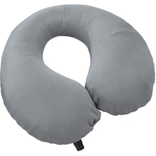 Thermarest Self Inflating Neck Travel Pillow - Grey