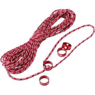 MSR Reflective Utility Cord 15m Kit Tent Accessory - Red