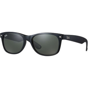 Ray-Ban New Wayfarer Sunglasses - Matte Black Green