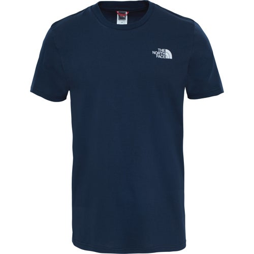 North Face Simple Dome T Shirt - Urban Navy TNF White