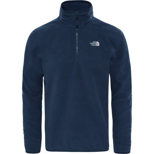 North Face 100 Glacier Quarter Zip Fleece - Urban Navy Urban Navy