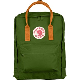 Fjallraven Kanken Classic Backpack - Leaf Green Burnt Orange