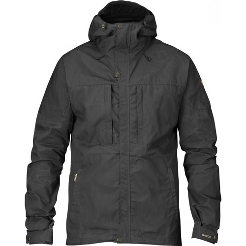 Fjallraven Skogso Windproof Jacket - Dark Grey