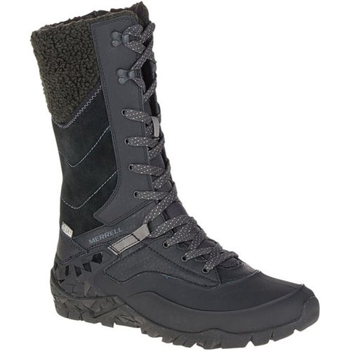Merrell Aurora Tall Ice Plus WTPF Ladies Boots - Black