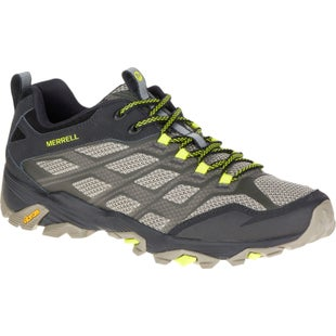 Merrell Moab FST Hiking Shoes - Olive Black