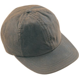 Barbour Wax Sports Cap - Olive