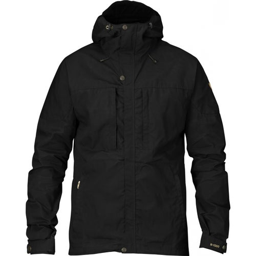 Fjallraven Skogso Windproof Jacket - Black