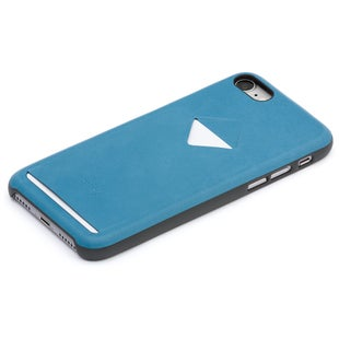 Bellroy iPhone 7 Case 1 Card Wallet - Arctic Blue