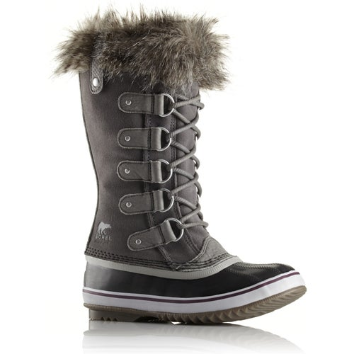 Sorel Joan Of Arctic Faux Fur Ladies Boots - Quarry Black