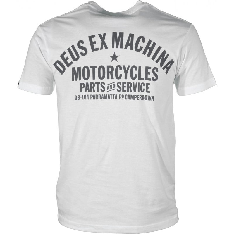 Camiseta de manga corta Deus Ex Machina Camperdown Address