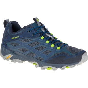 Merrell Moab FST Hiking Shoes - Navy