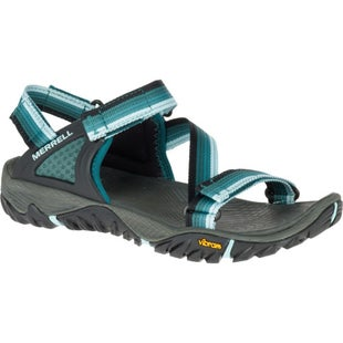 Merrell All Out Blaze Web Ladies Sandals - Sea Pine