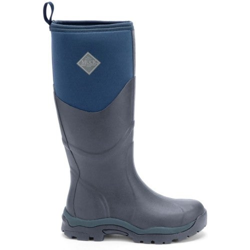 Muck Boots Greta II Max Ladies Wellies - Navy