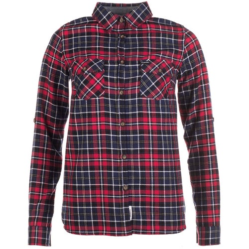 Passenger Clothing Yosemite Ladies Shirt - Red Navy Check