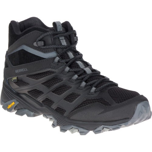 Merrell Moab FST Mid GTX Hiking Shoes - Noire