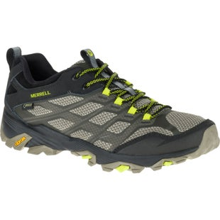 Merrell Moab FST GTX Hiking Shoes - Olive Black