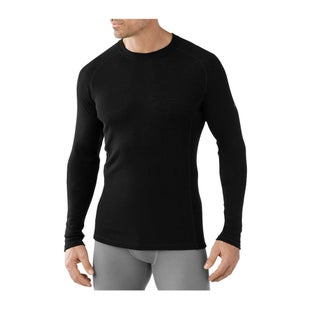 Smartwool NTS Light 200 Crew Base Layer Top - Black