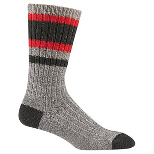 Wigwam Lakewood Hiking Socks - Charcoal Red