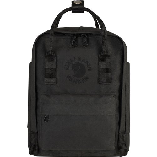 Fjallraven Re Kanken Mini Backpack - Black