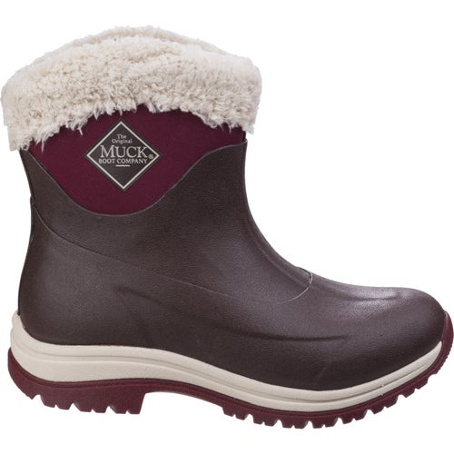 Muck Boots Arctic Apres 8in Ladies Wellies - French Roast Cordovan