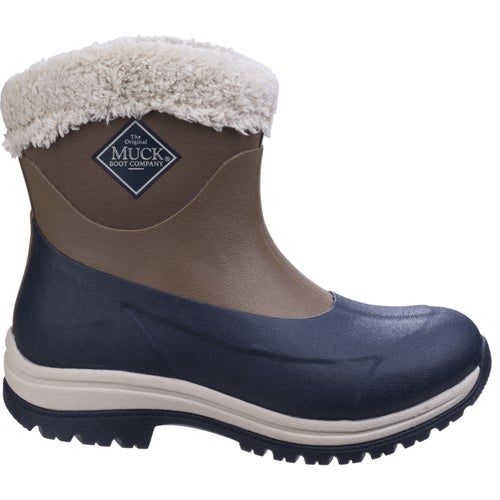 Muck Boots Arctic Apres 8in Ladies Wellies - Otter Total Eclipse Dress Blues