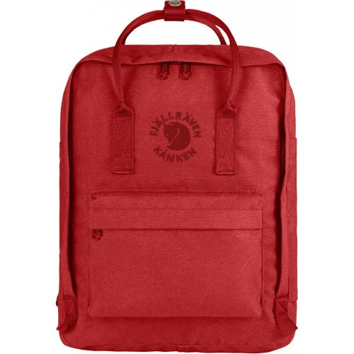 Fjallraven Re Kanken Backpack - Red