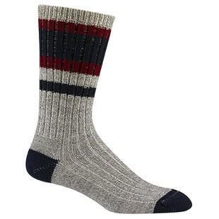 Wigwam Lakewood Hiking Socks - Navy Burgundy