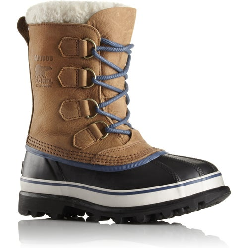 Sorel Caribou WL Faux Fur Ladies Boots - Elk Dark Mountain