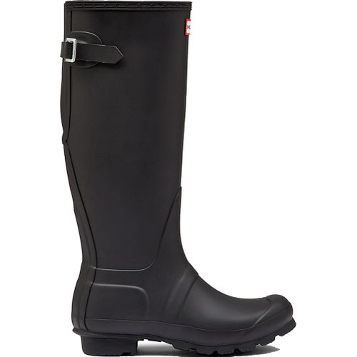 Hunter Original Back Adjustable Ladies Wellies - Black