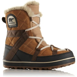 Sorel Glacy Explorer Shortie Faux Fur Ladies Boots - Elk