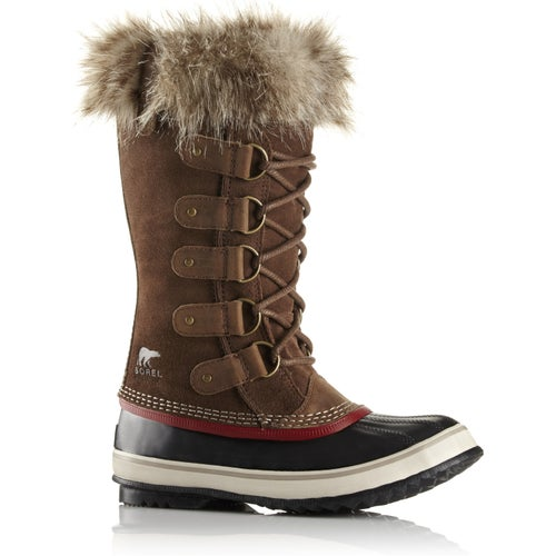 Sorel Joan Of Arctic Faux Fur Ladies Boots - Umber Red Dahl