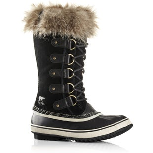 Sorel Joan Of Arctic Faux Fur Ladies Boots - Black Stone