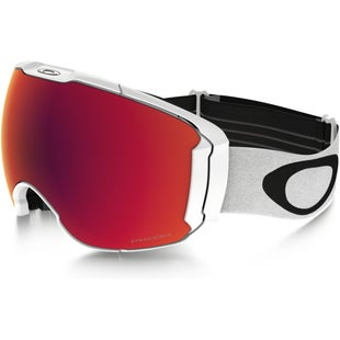 Oakley Airbrake XL Snowboard Goggles - Polished White ~ Prizm Torch Iridium and Prizm Rose